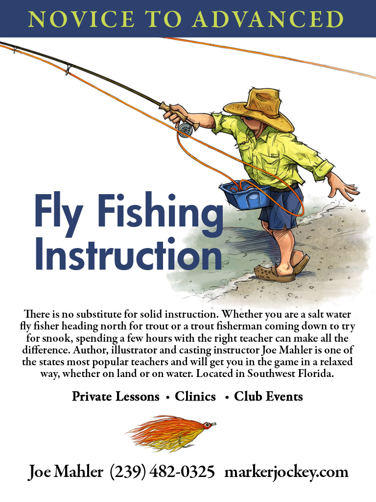 Fly fishing lessons Sanibel