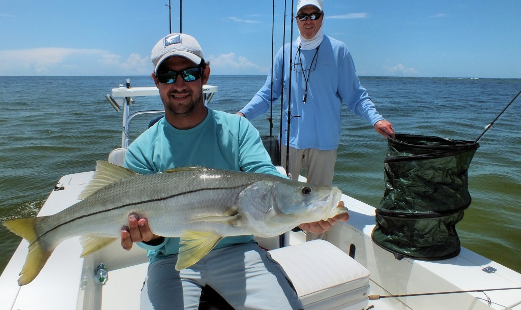 Captiva snook sanibel fishing charters for Snook fishing florida