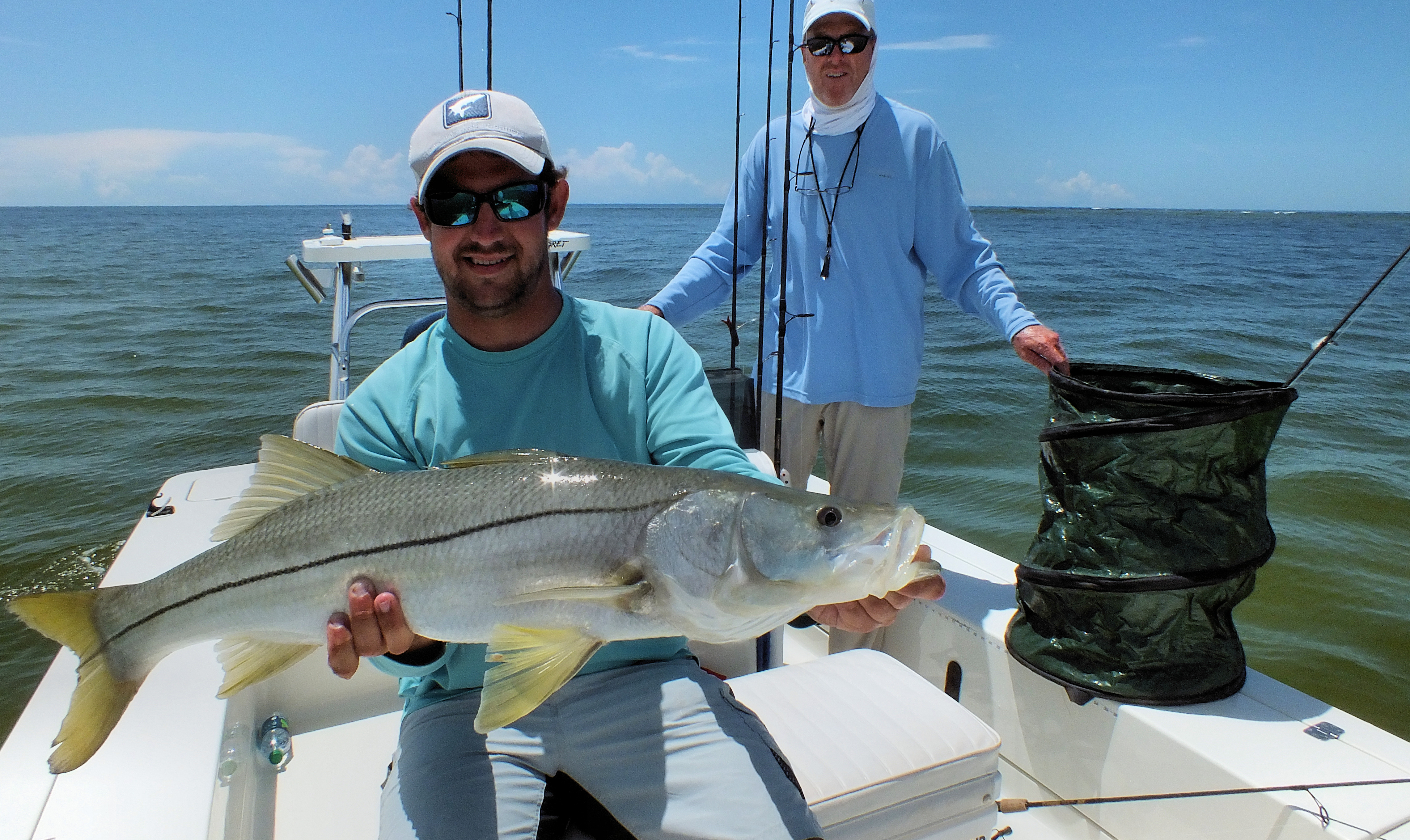 Captiva snook sanibel fishing charters for Sanibel island fishing charters