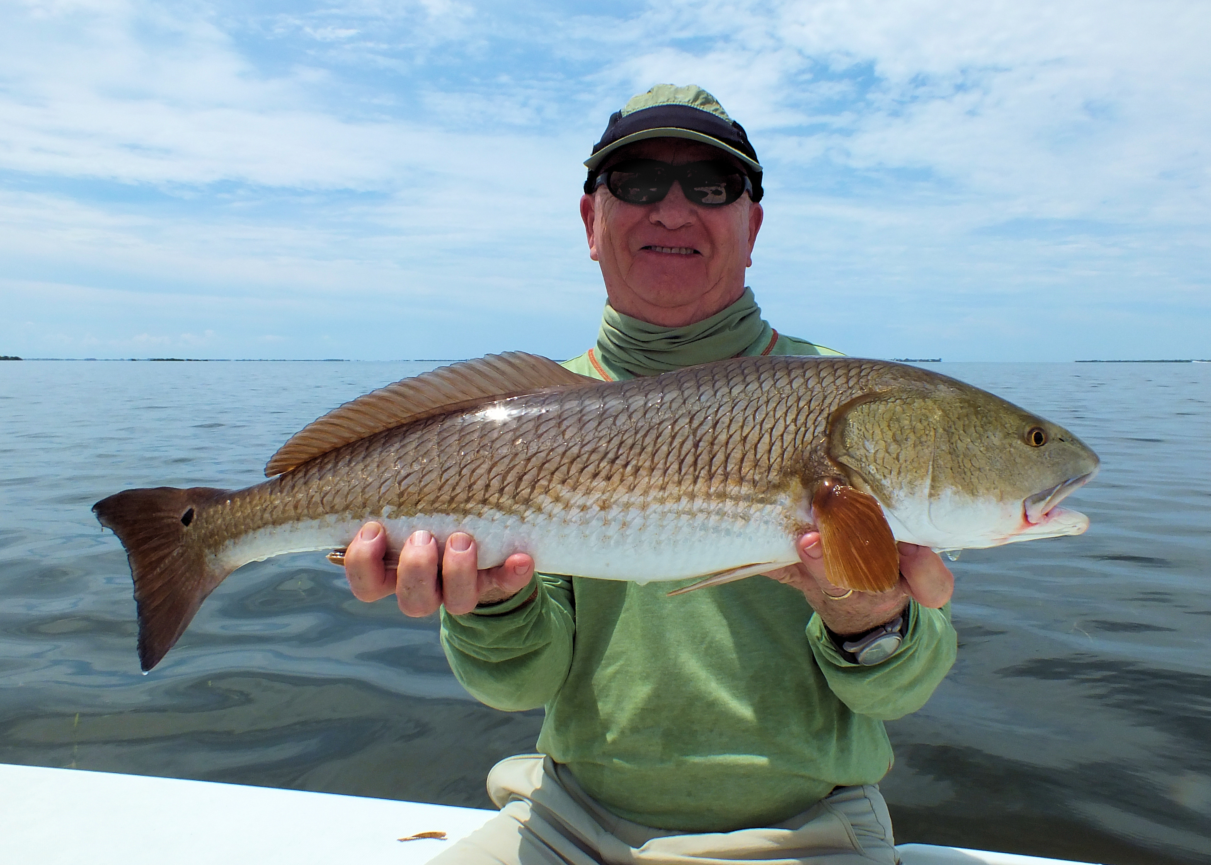 Redfish sanibel island fishing charters for How to fish for redfish