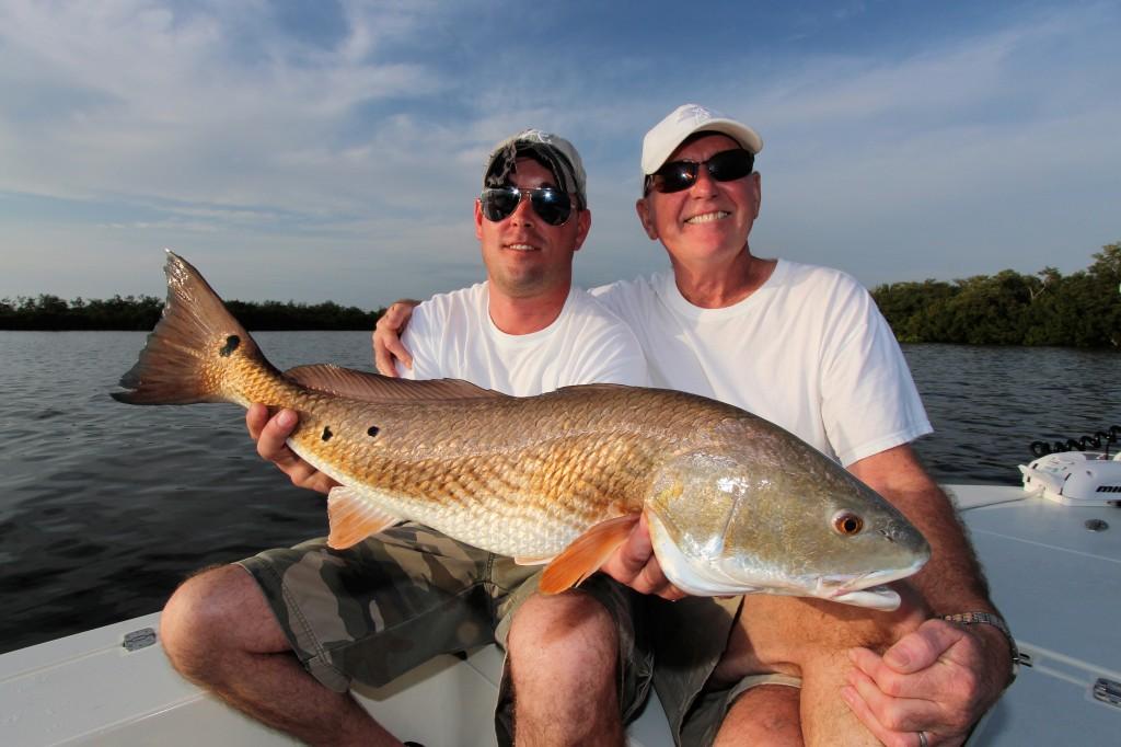 Sanibel island redfish sanibel fishing charters for Pine island fishing charters